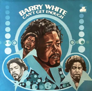 Barry White - Can't Get Enough (LP) (G+/VG)